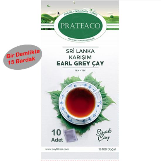 Earl Grey 10'lu Çay (Bir Demlikte 15 Çay)