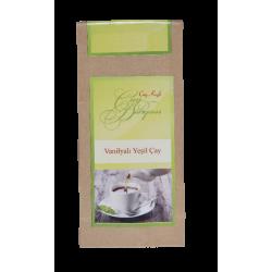 Vanilyalı Yeşil Çay (50gr-25 Fincan)